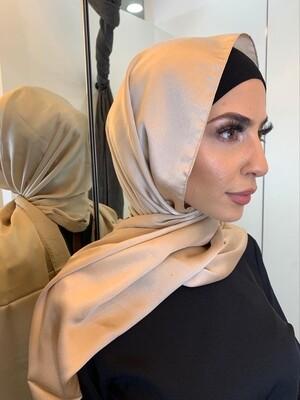 Silk style hijab