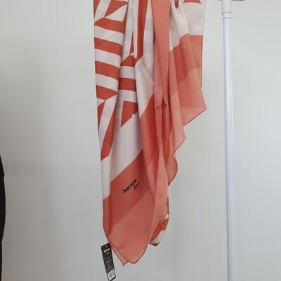 Geometric Hijab Orange