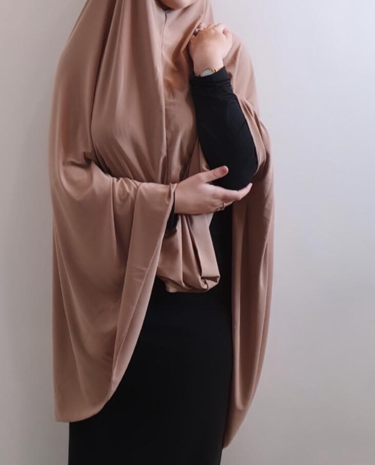 Jilbab in Ginger