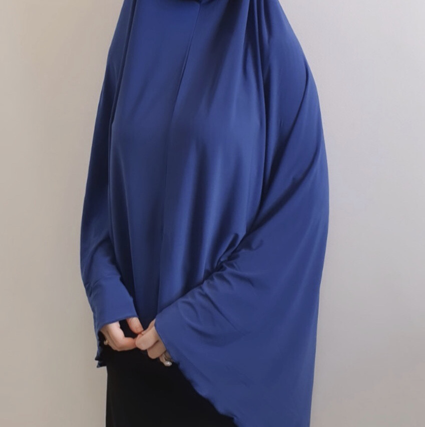 Jilbab In Royal Blue