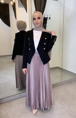 Pleated Skirt Blush