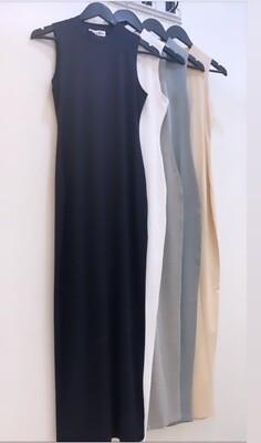 Cotton Sleeveless Body Dress