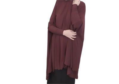 Jilbab Sleeved Maroon