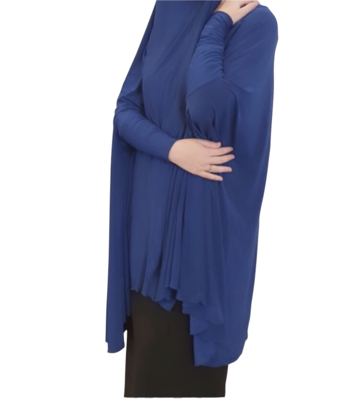 Jilbab Sleeved Royal Blue