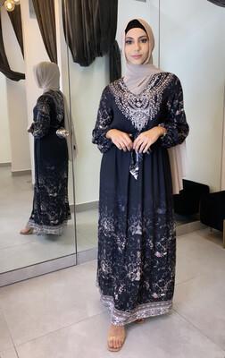 Embellished Dress Black