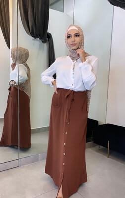 Layla Skirt Brick