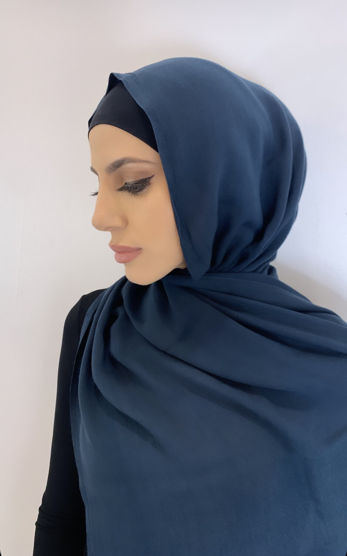 Tassel Free Cotton Hijab Teal