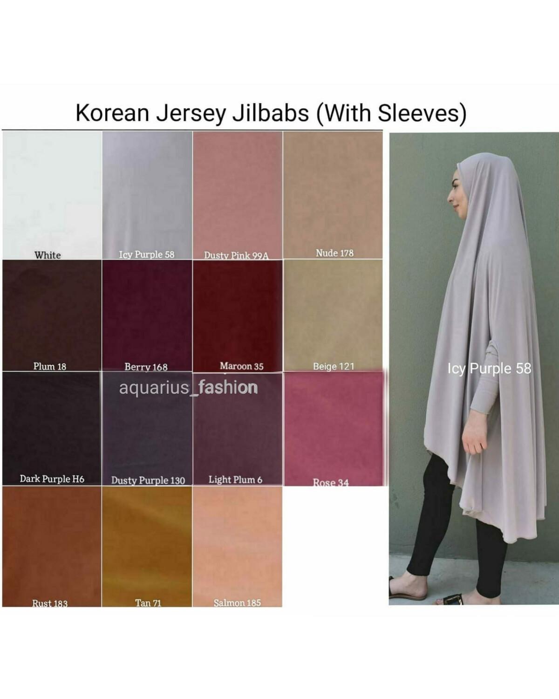 Jilbab Sleeved