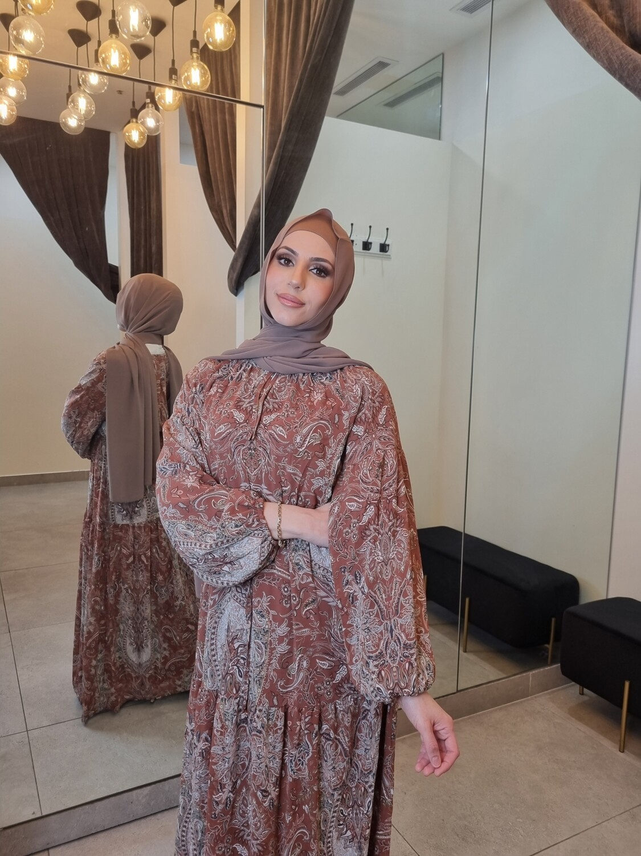 Patterned Abaya