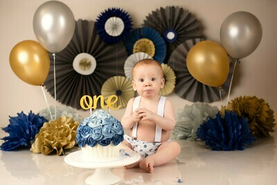 Cake Smash Photoshoot - Studio