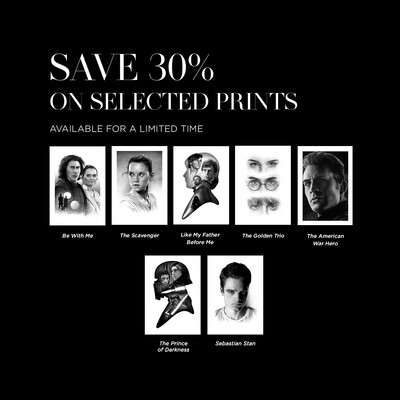 SAVE 30% ON SELECTED PRINTS