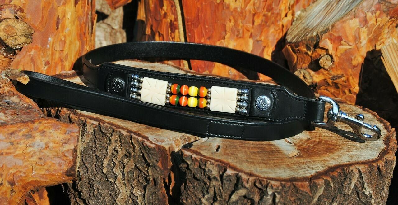 Kurzführer Indian Dox Line black Indianer Style