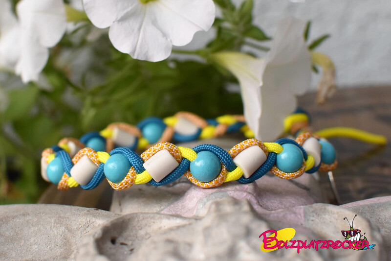 EM-Kette Honeycomb/ EM-Keramikketten / EM-Keramik Halsband gegen Zecken