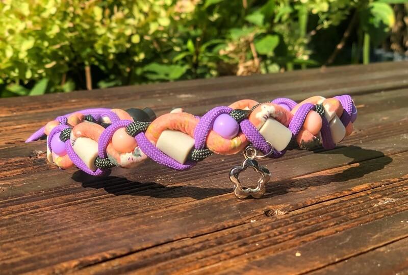 EM- Keramikkette gegen Zecken für einen Halsumfang von ca. 33-39cm