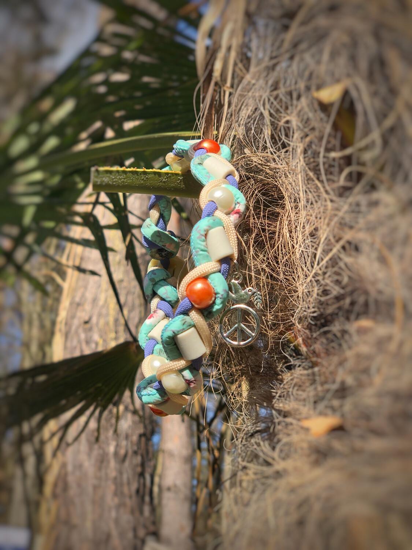 EM- Keramikkette gegen Zecken für einen Halsumfang von ca. 31-37cm