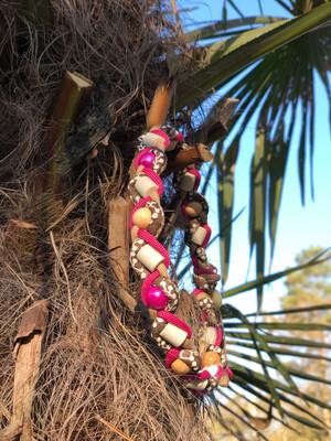 EM- Keramikkette gegen Zecken für einen Halsumfang von ca. 39-45cm