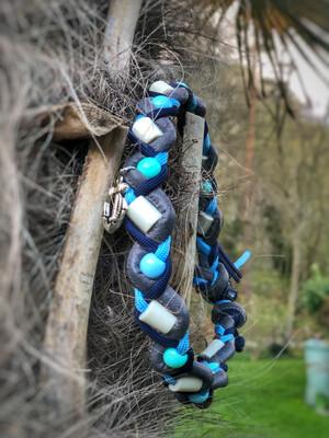 EM- Keramikkette gegen Zecken für einen Halsumfang von ca. 40-45cm