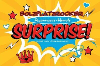 Alpenfleece-Hoodie SURPRISE!!! LASS DICH ÜBERRASCHEN!