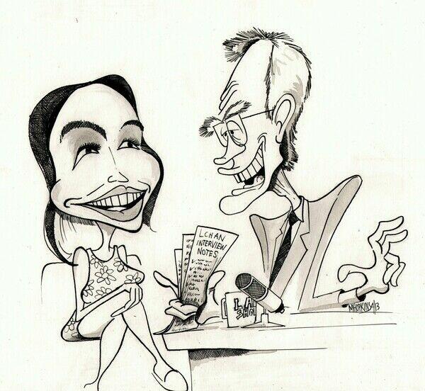 Michael Hopkins Caricatures
