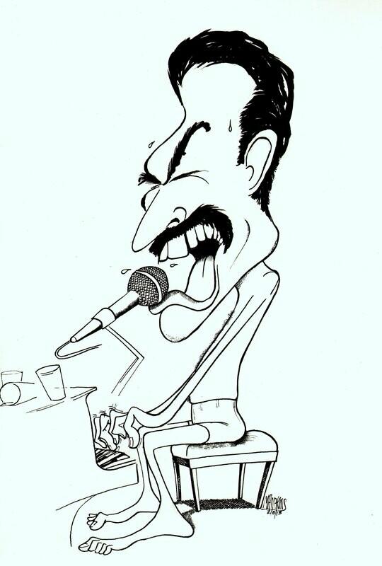 Freddie Mercury - Giclée Limited Edition Print
