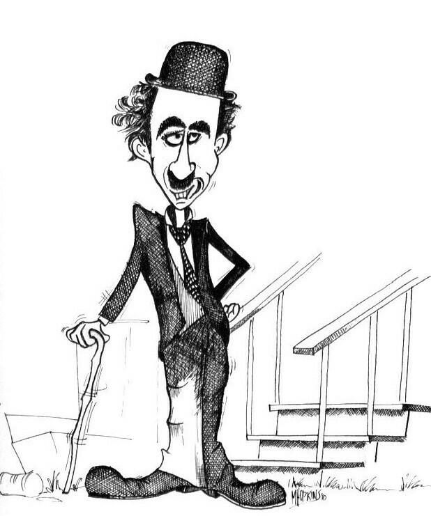 Charles Chaplin - Limited Edition Giclée Print