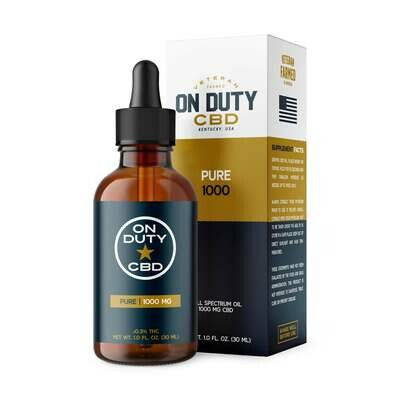 1000MG Pure Oil