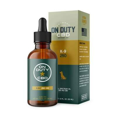 250MG Pure K-9 Oil