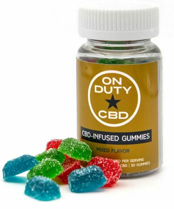 THC-Free CBD Infused Gummies