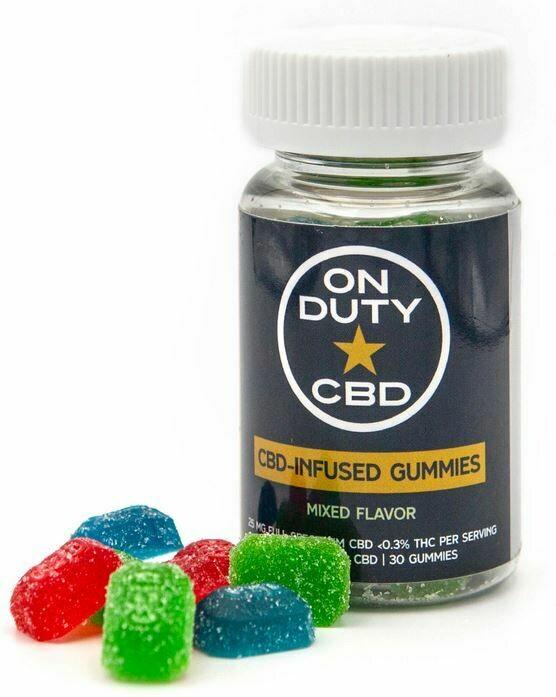 Full Spectrum CBD-Infused Gummies