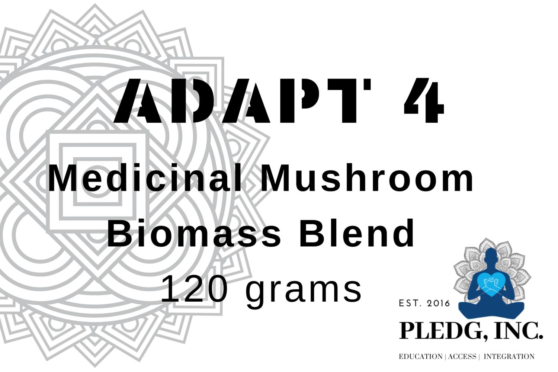 """ADAPT 4"" Medicinal Mushroom Biomass Blend"