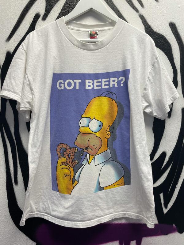 "2000 Fox ""Got Beer"" Homer Simpsons Size XL"