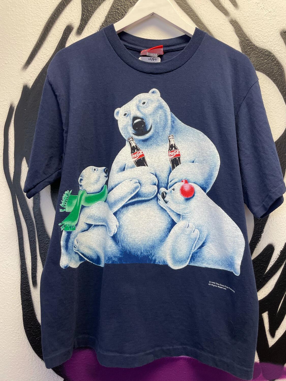 1995 Coca Cola Bears Size XL