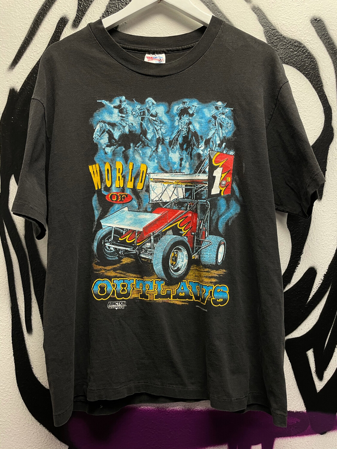 1994 Outlaws Racing Shirt Size Large