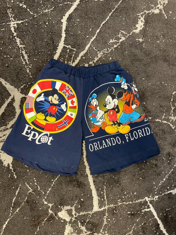 Custom Mickey Mouse Shorts Size Medium - XL
