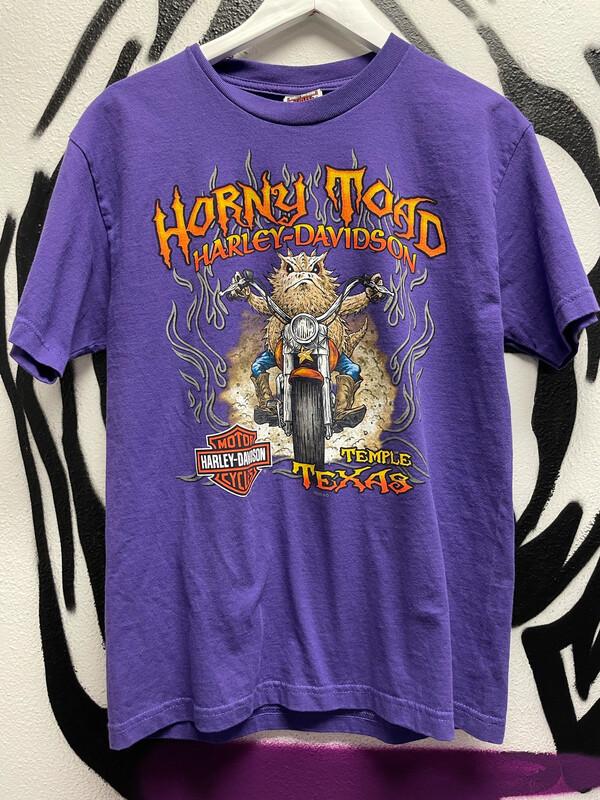 "Harley Davison ""Horny Toad"" Size Medium"