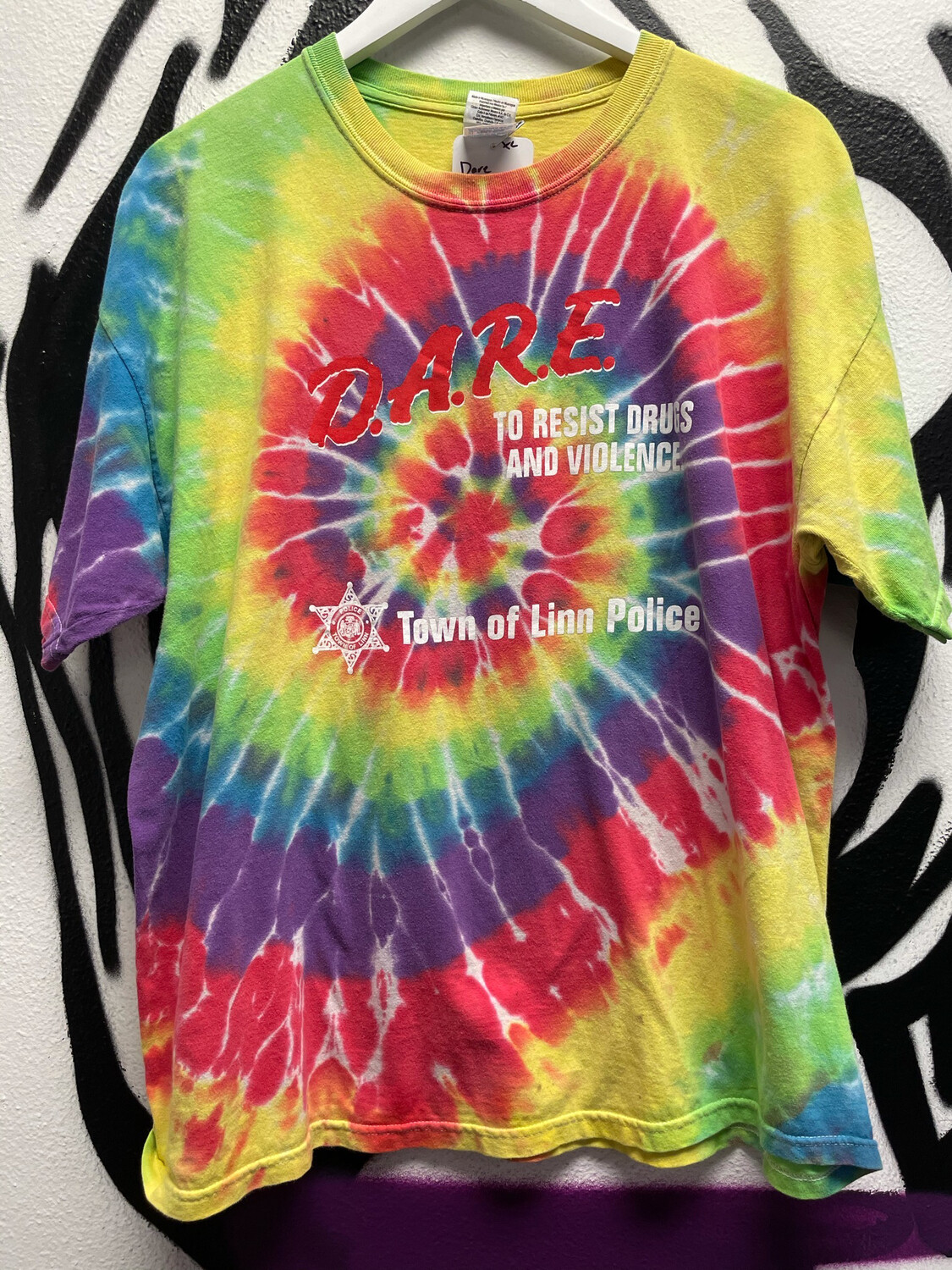 Dare To Resist Drugs Size XL
