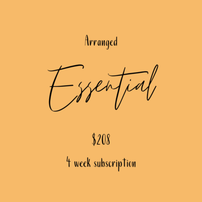 Flower Subscription - Essential Arrangement