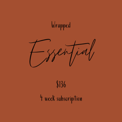 Flower Subscription- Essential Wrapped