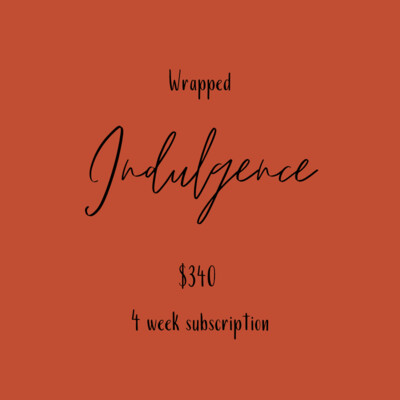 Flower Subscription - Indulgence Wrapped
