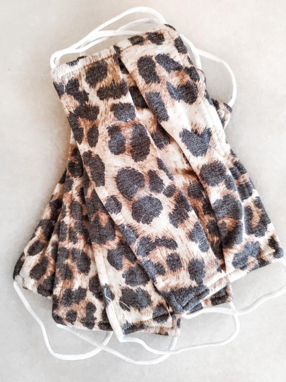 Leopard print mask WOMENS