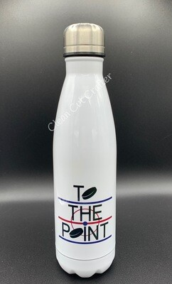 17oz stainless steel water bottle - To the Point