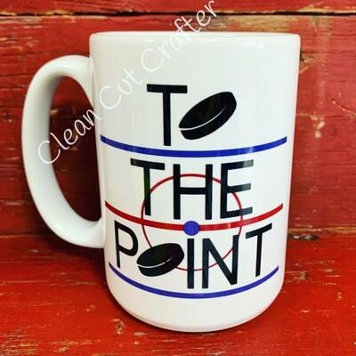 15oz Ceramic Mug - To the Point
