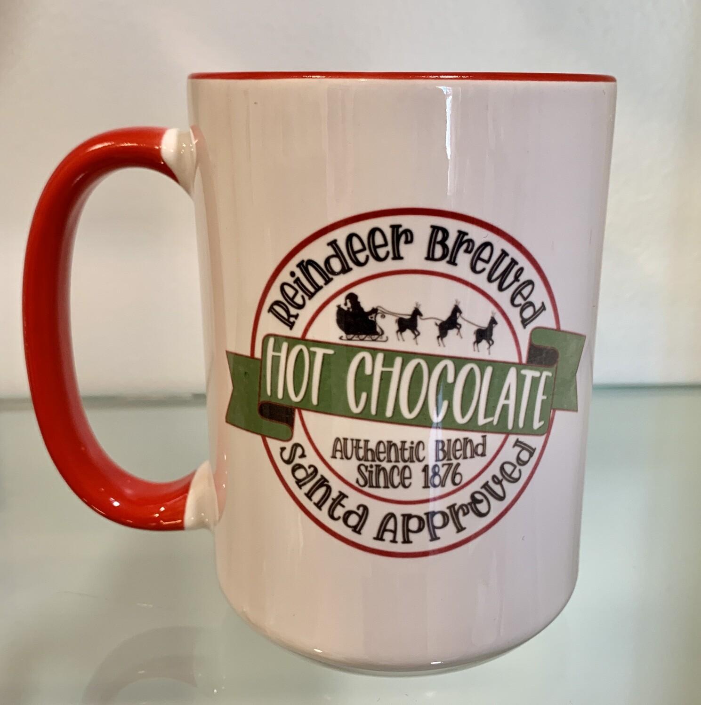 15oz Ceramic Mug - Hot Chocolate design