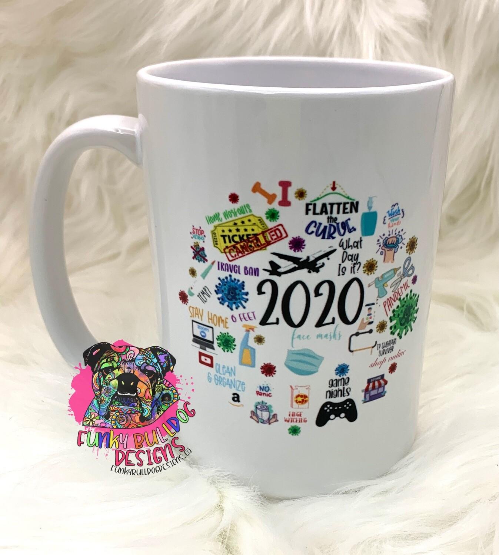 15oz Ceramic Mug - 2020 design
