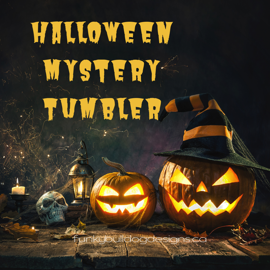 Halloween Mystery Stainless Steel Tumbler