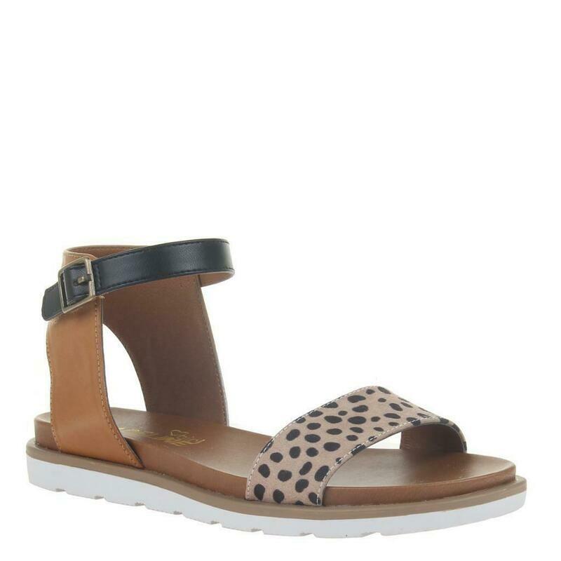 Madeline Girl Starling Leopard Sandals