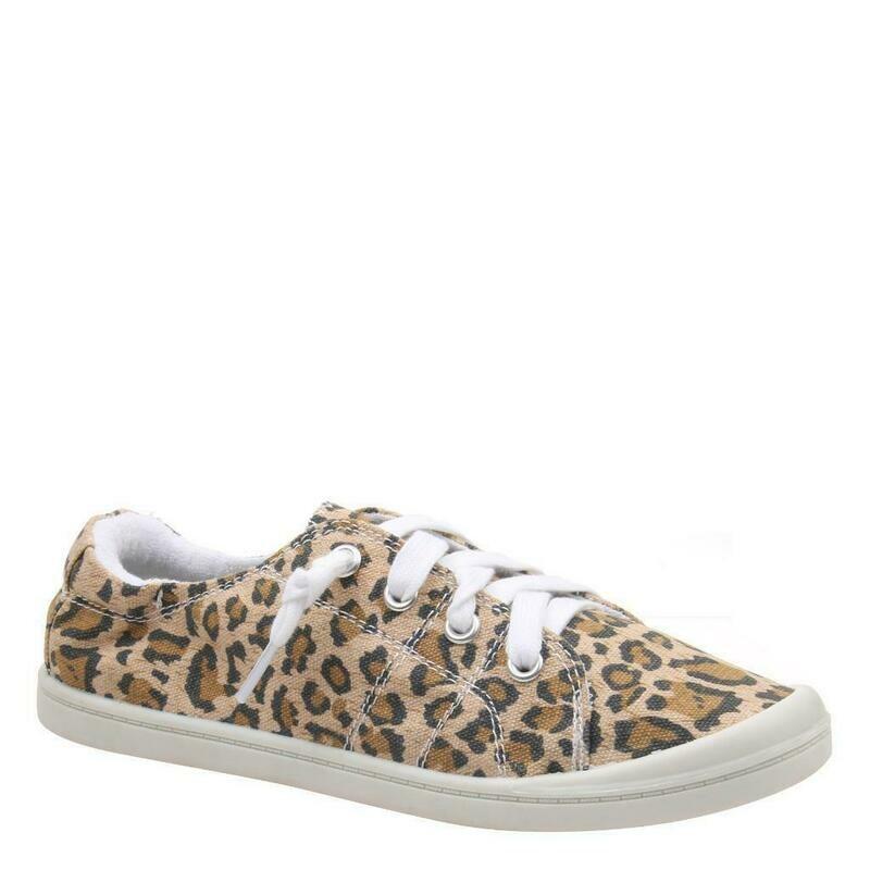 Madeline Girl Jelly Bean Leopard Print  Sneaker