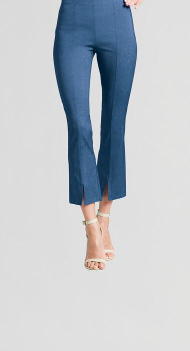 Clara S Denim Pull-on Ankle Pant