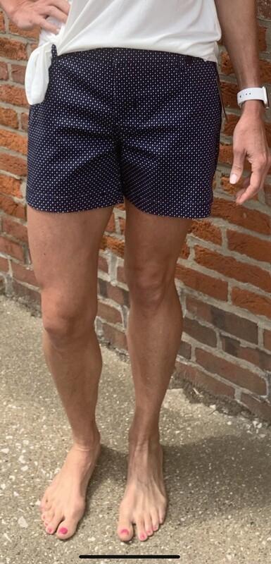 Liverpool Blue Dot Trouser Shorts
