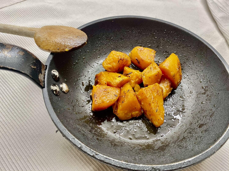 Patate douce rôtie aux épices zaatar